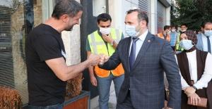 Başkan Mustafa Tutuk: Kentimizi mükemmel hale getireceğiz