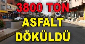 Yalova'da Şehit Ömer Faydalı Caddesi asfaltlama işlemleri tamamlandı...  3800 ton
