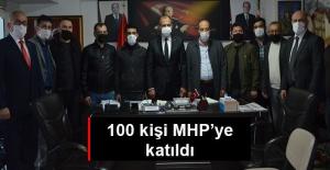 Malatyalılar Derneği'nden MHP'ye yoğun katılım