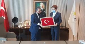 Erol Tatar'dan Akşener'e ziyaret