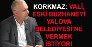Hakan Korkmaz yazdı... Vali, eski buzhaneyi Yalova Belediyesi'ne vermek istiyor!