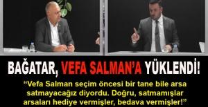 Muğlim Bağatar, skandal arsa satışlarıyla ilgili Vefa Salman'a fena yüklendi!