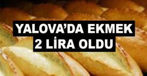 bYalovada ekmek 2 lira oldu/b