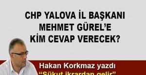 bHakan Korkmaz yazdı... Mehmet Gürel#039;e.../b