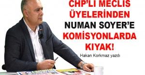 Hakan Korkmaz yazdı... CHP'li meclis üyelerinden Numan Soyer'e kıyak!