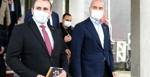 İçişleri Bakanı Süleyman Soylu'dan Yalova Belediyesi'ne ziyaret