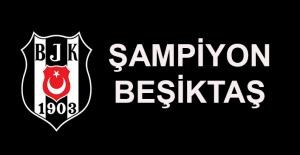 Süper Lig'de şampiyon...