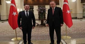 Başkan Mustafa Tutuk, Cumhurbaşkanı Erdoğan'la bir araya geldi
