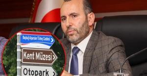 """Başkan Mustafa Tutuk'tan Erol Tatar'a """"Alparslan Türkeş"""" yanıtı"""