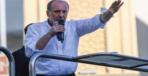İnce: Hem Suriyeliler hem de siz gidince ekonomi düzelecek!