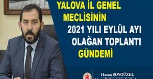 bYalova İl Genel Meclisi 2021 Eylül.../b