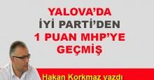 Hakan Korkmaz yazdı… Yalova'da İYİ Parti'den 1 puan MHP'ye geçmiş