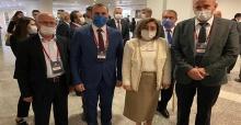 Başkan Mustafa Tutuk, Türkiye Belediyeler Birliği toplantısına katıldı