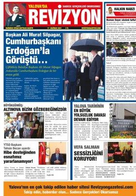 Revizyon Gazetesi - 17.06.2021 Manşeti