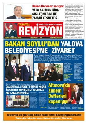 Revizyon Gazetesi - 30.04.2021 Manşeti