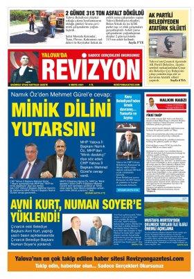 Revizyon Gazetesi - 06.05.2021 Manşeti