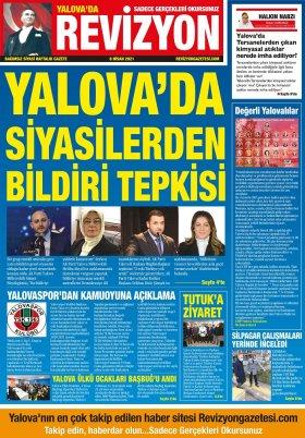 Revizyon Gazetesi - 08.04.2021 Manşeti